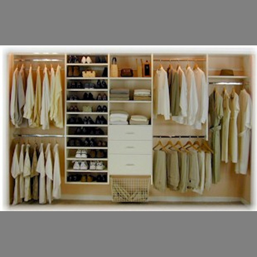 reach in closet design | Roselawnlutheran